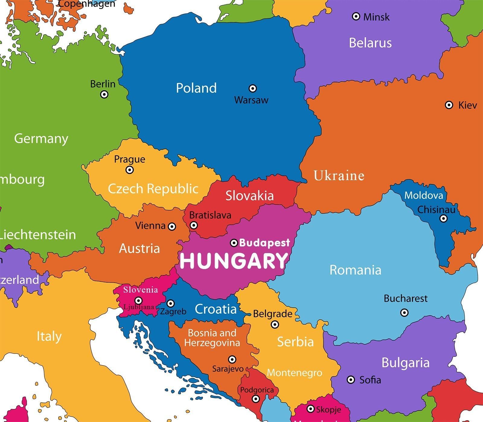 Karta Varlden Europa.Osterrike Pa Varldskartan Osterrike Karta I Varlden Karta Vastra